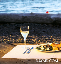 Picnic Dinner on Dundarave Beach